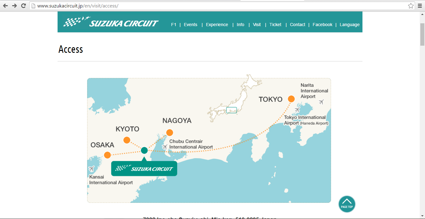 Featured SUZUKA CIRCUIT