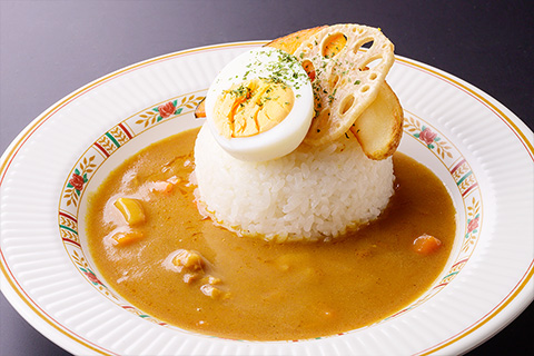 Udon Noodles with Grated Daikon Radish and Plum with Ise Sea Lettuce