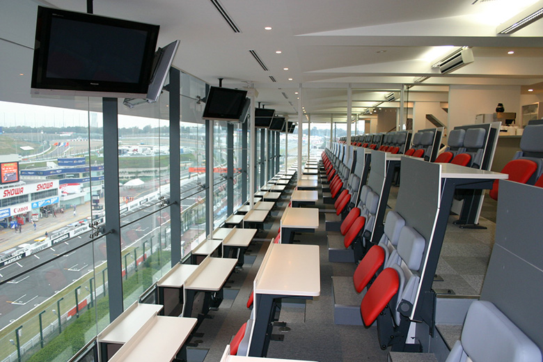 Premium views of the Main Straight and Pit Lane (Reserved Seat)
