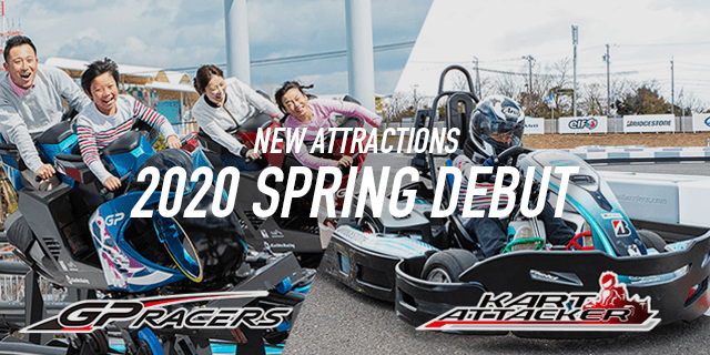 GPRACERS & KART ATTACKER SPRING DEBUT!